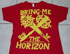 Bring Me The Horizon T Shirt (Xl) Concert Tour Red day to remember mice and men