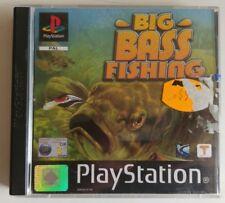 Big Bass Fishing (Sony PlayStation 1 Game) PAL PS1 PS2 PS3