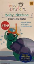 Baby Einstein-Baby Neptune-Discovering Water VHS-TESTED-RARE VINTAGE-SHIPS N 24H