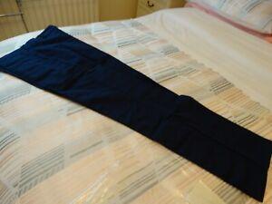 Men's Navy Trojan Action Trousers Size 34w/33L Regular
