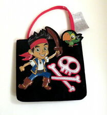 "Disney Jake and the Pirates Felt Purse 10"" high Not Counting Handle"
