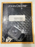 John Deere 644J & 724J Loaders Operator's Manual