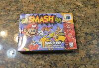 NEW + SEALED Super Smash Bros. Brothers for Nintendo 64 N64 Cartridge