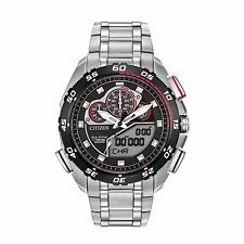 Citizen Eco-Drive Men's JW0111-55E Promaster Racing Chronograph Ana-Digi Watch