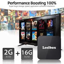 NEW Q2 Android 8.1 BT4.0 Quad Core HD Free Movie BOX Set Top BOX + Voice Control