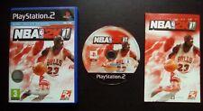 NBA 2K11 : JEU Sony PLAYSTATION 2 PS2 (Basket 2K Sports COMPLET envoi suivi)