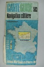 CARTE GUIDE NAVIGATION COTIERE 503 TOULON - CAVALAIRE PAR CLAUDE VERGNOT