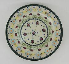 Bunzlauer Keramik Teller, Essteller, Kuchenteller, Frühstück, ø 22cm (T134-IF45)