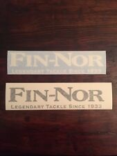 Fin Nor Fishing Reels Decal