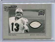 2000 FLEER GREATS OF THE GAME DAN MARINO JERSEY CARD, MIAMI DOLPHINS, 072218