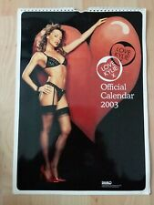 More details for kylie minogue calendar 2003 pre owned