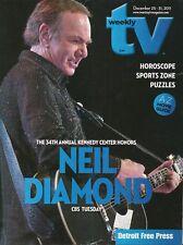 TV WEEKLY 2011 DEC. DEC. 25-31 NEIL DIAMOND (FAIR/GOOD CONDITION)