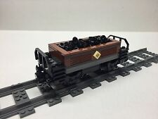 LEGO Custom Coal Car for #10194 Emerald Night. Very nice all new parts