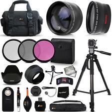 Premium Accessory Kit f/ Nikon D5500 D5300 D5200 D3300 D3200 D3100 D5100