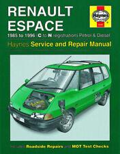 Manuales de reparación y servicios Espace Renault
