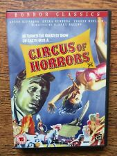 RARE HORROR CLASSIC CIRCUS OF HORRORS REGION 2 DVD