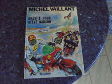 belle  reedition michel vaillant match 1 pour steve warson