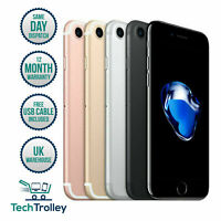 Apple iPhone 7 32GB 64GB 128GB (Unlocked) A1778 (GSM) 12 Month Warranty