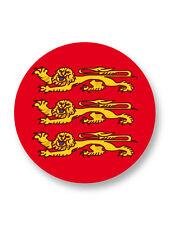 """Pin Button Badge Ø25mm 1"""" Drapeau Flag Région Haute Normandie Haut Normand"""