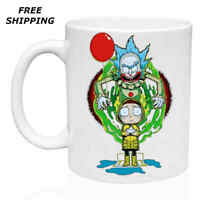 Rick and Morty, Birthday, Christmas Gift, White Mug 11 oz, Coffee/Tea
