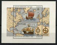 Europa cept 1992 Fäeröer Blok 5 - MNH cat waarde € 7,50