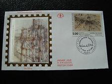 FRANCE-enveloppe 1er jour 11/12/1993 (marie-helene vieira da silva)(cy21)french