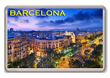 BARCELONA ESPAÑA  FRIDGE MAGNET SOUVENIR NEW IMÁN NEVERA