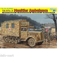 Dragon 1/35 6766 Sd.Kfz.3 Maultier Ambulance Model Kit