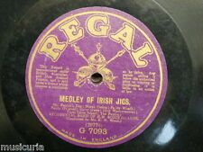 78 rpm BAND H M SCOTS GUARDS medley of irish jigs / melodies F W WOOD