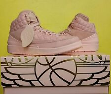 NEW Gradeschool Air Jordan 2 Retro Just Don C Artic Orange 923840 805 Sz 7.0y GG