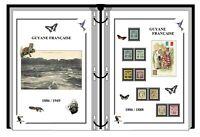 Album de timbres à imprimer   GUYANE FRANÇAISE