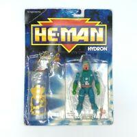 Vintage 1989 Mattel MOTU He-Man Hydron Action Figure MOC NRFB