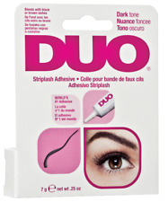DUO adhesive dark schwarz MAC Wimpernkleber f. falsche Wimpern strip lash glue