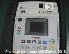 Megger PAT310 DE(Euro) Pat Tester 0701-0702  1 Year Warranty