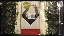 """FOOD NETWORK HOLLY PATCH TABLE RUNNER, 14""""X 72"""""""