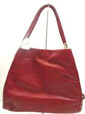 NWT COACH Madison Leather Small Phoebe Shoulder Bag Light Gold Scarlet F26224
