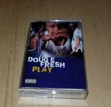 Doug E Fresh Play cassette tape Old School Rap Hip Hop Where's The Party At 1995