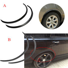 Universal Car Flexible Fender Flares Durable Over Fenders Wheel Arches Black