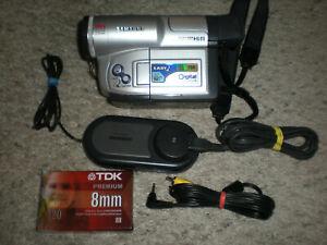 Samsung SCL810 8mm HI8 Video8 camera Camcorder VCR Player Video Transfer