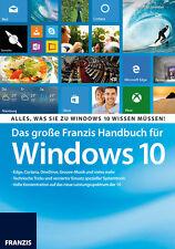 Das große Franzis Handbuch für Windows 10 Christian Immler