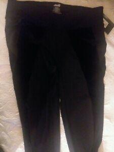 NWT Avia Womens Black Fashion Legging Yoga Athletic Workout Pant Soft Size XXL