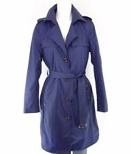 Beaumont Trench Coat Parachute Trenchcoat Size 36 38 Blue Coat Nylon Np 229 New