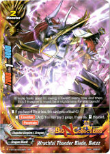 Buddyfight 1x X-BT02/0009EN - RR - Wrathful Thunder Blade, Batzz