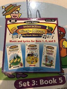 Super duper Publications Interactive Sing Along Big Book Music CD