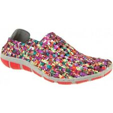 Adesso Layla Passion Mix Elasticated Mules NEW SS18 RRP £34.99 Size 6