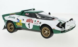 "IXO 1:18 18RMC061A 1975 Lancia Stratos HF ""Alitalia"" Rally San Remo #1 - NEU!"
