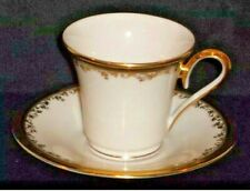 DISCONTINUED LENOX CHINA ECLIPSE  CUP & SAUCER SET EXCELLENT NEW CONDITION