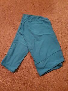 LuLaRoe New turquoise TC Leggings NWOT