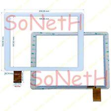"Vetro Touch screen 9,7"" Brondi Surfing TAB B Tablet PC Bianco"