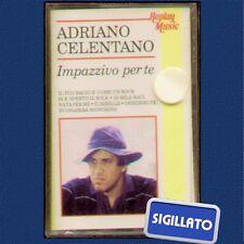 """ADRIANO CELENTANO """" IMPAZZIVO PER TE """" MC MUSICASSETTA SIGILLATA K7"""